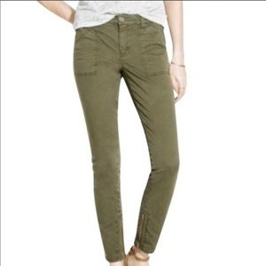 Madewell Skinny Fatigue pants